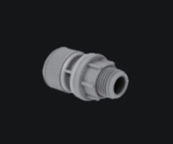 Casa England <br>pipe Push Fitting Tank Connector